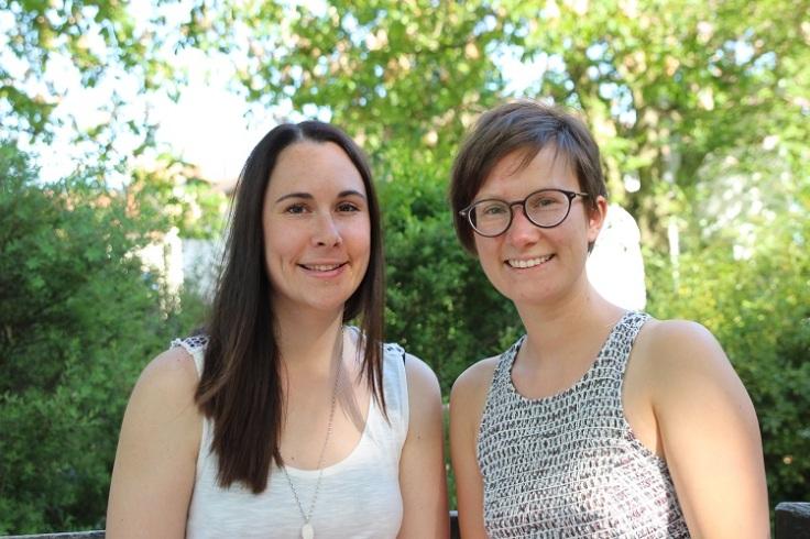 Annina und Lena von breifreibaby im Interview auf dem Krümel Blog, (c) breifreibaby