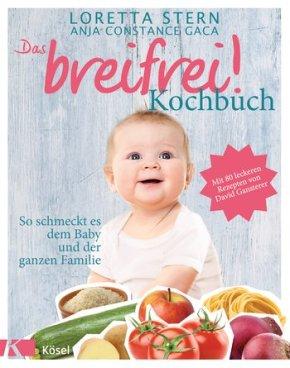"""""""Das breifrei!-Kochbuch"""" von Loretta Stern und Anja Constance Gaca, (c) Kösel"""