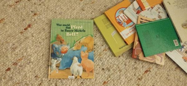 """""""Was macht das Pferd in Bauer Michels Bett?"""", gelesen auf dem Krümel Blog, (c) Krümel Blog"""