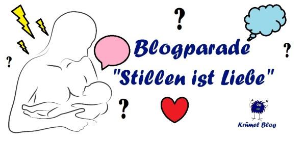 """Blogparade auf dem Krümel Blog """"Stillen ist Liebe"""", (c) Krümel Blog"""