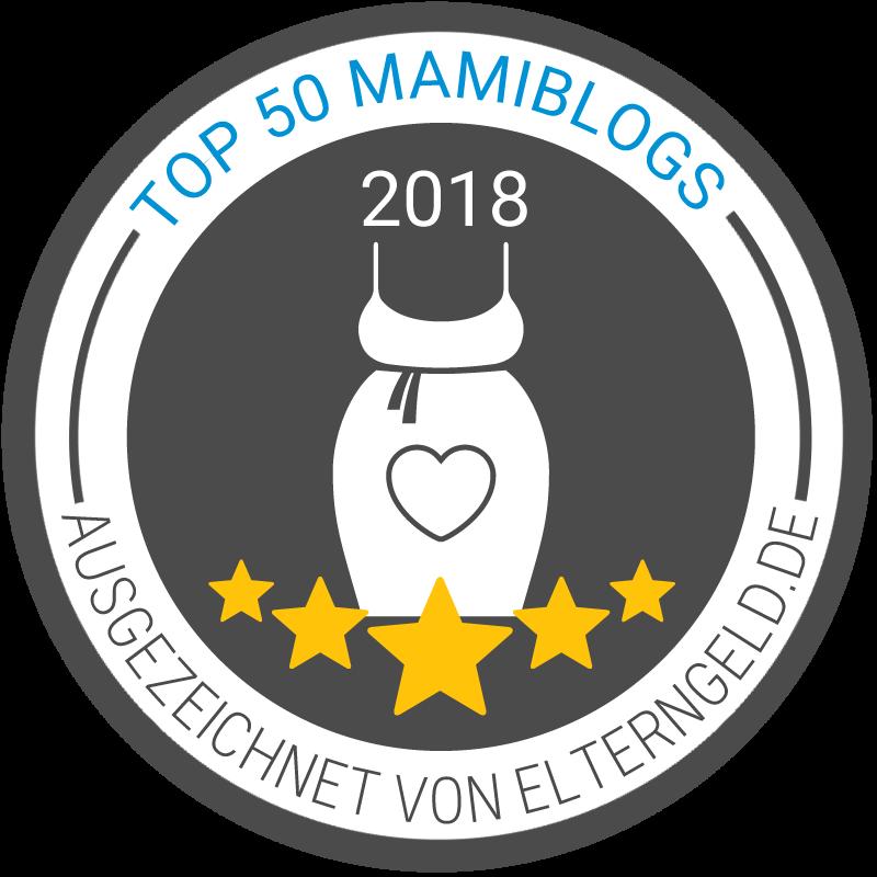 Der Krümel Blog ist unter den Top 50 Mamiblogs von Elterngeld.de, (c) Elterngeld.de