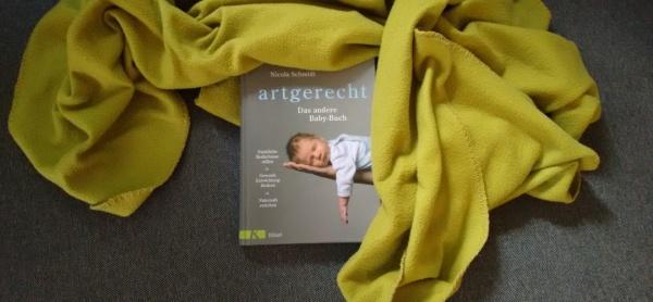 """""""artgerecht - Das andere Baby-Buch"""" von Nicola Schmidt auf dem Krümel Blog"""