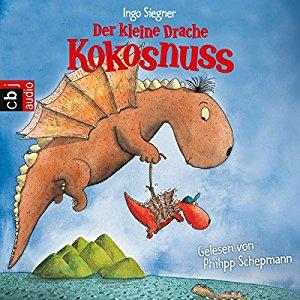 """""""Der kleine Drache Kokosnuss"""" von Ingo Siegner, (c) Random House Audio - rezensiert vom Krümel Blog"""