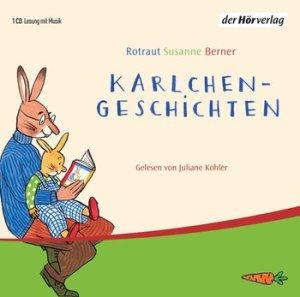 """""""Karlchen-Geschichten"""" von Rotraut Susanne Berner, (c) der Hörverlag - rezensiert auf dem Krümel Blog"""