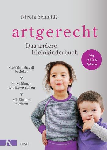 """""""artgerecht - Das andere Kleinkinderbuch"""" von Nicola Schmidt, (c) Kösel Verlag, rezensiert auf dem Krümel Blog"""