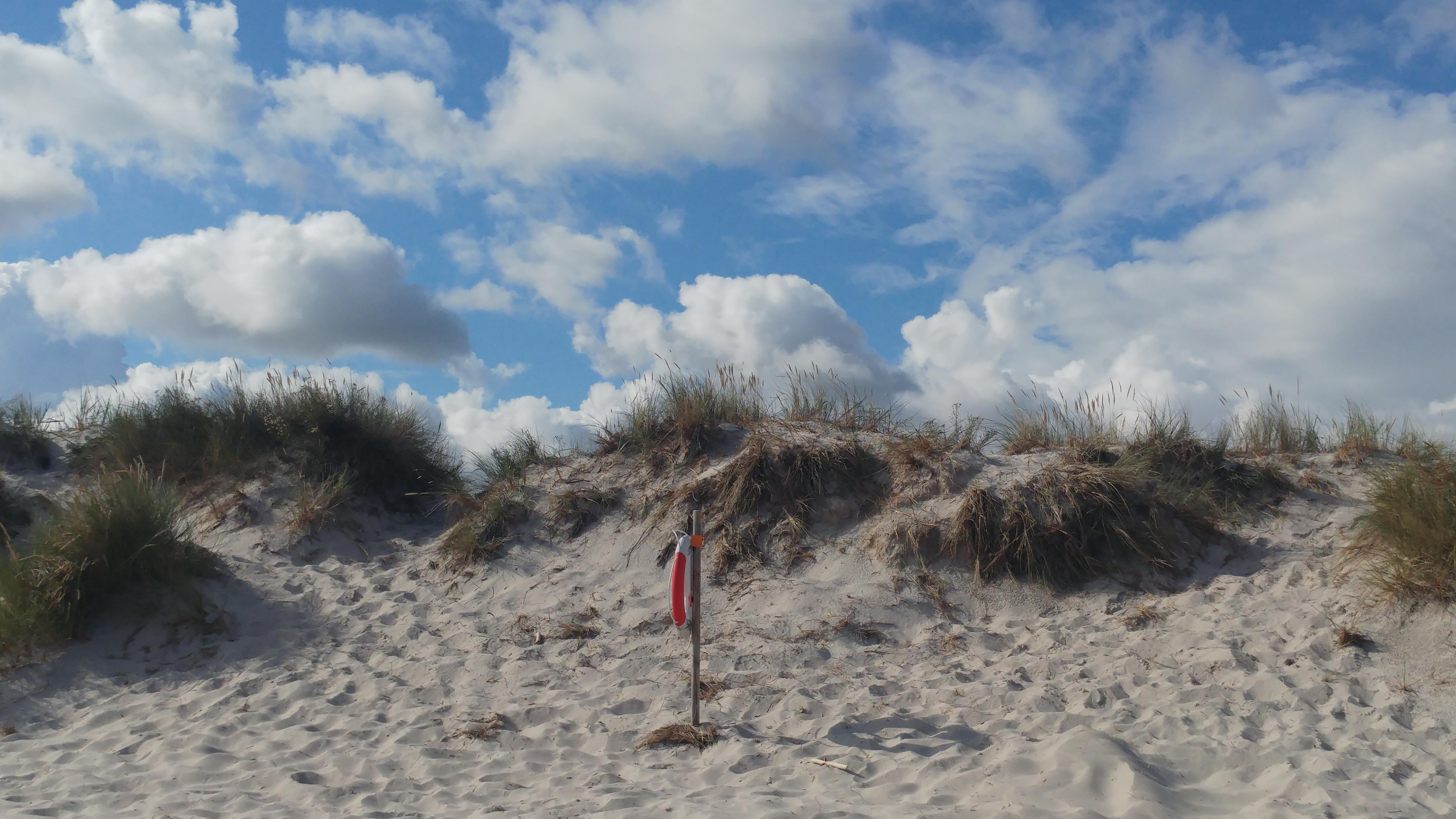 Im Spätsommer ist hier nicht mehr viel los: Sandhammaren, Schweden, (c) Krümel Blog