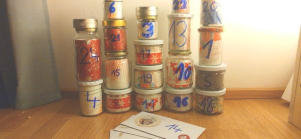 """DIY, plastikfrei & Zero Waste: Adventskalender selber basteln - Teil 1"" (c) Krümel Blog"