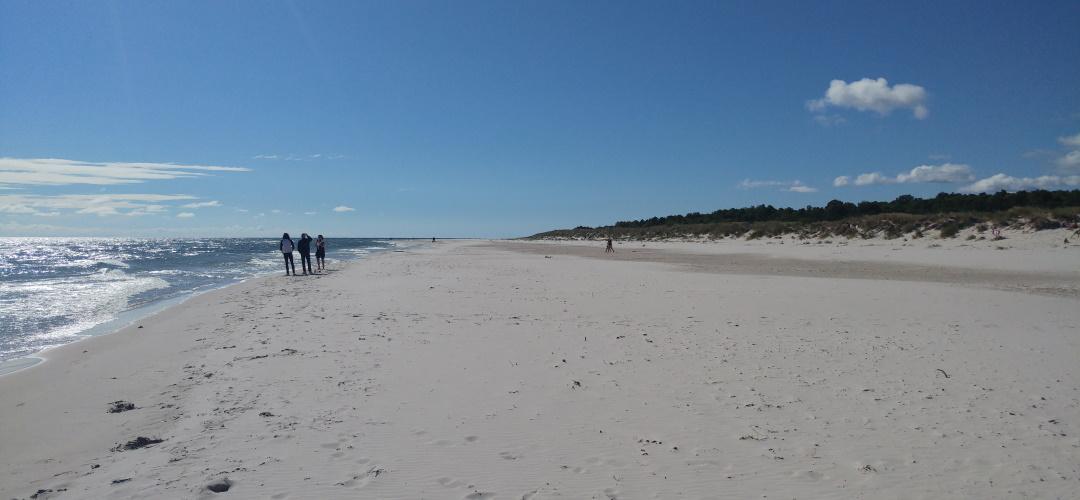 Der schönste Strand in ganz Schweden: Sandhammaren, (c) Krümel Blog