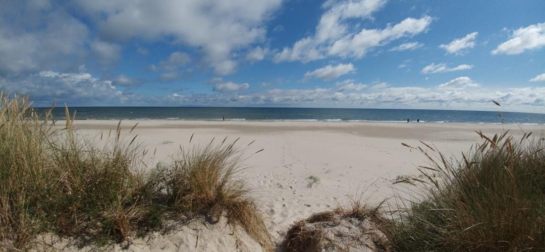Unendliche Weite, heller Pudersand und ein traumhafter Ausblick: Sandhammaren in Schweden, (c) Krümel Blog
