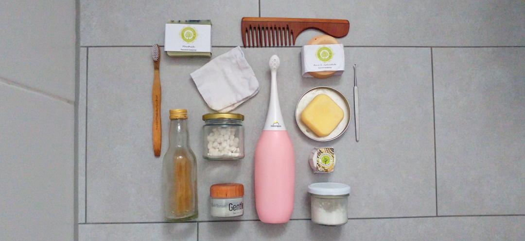 """""""Zero Waste im Badezimmer: Nachhaltige, plastikfreie & unverpackte Körperhygiene"""" auf dem Krümel Blog"""